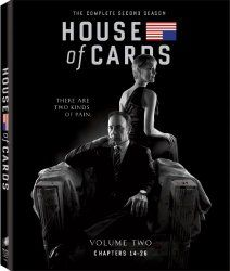 House of Cards: Season 2 (Blu-ray + UltraViolet)