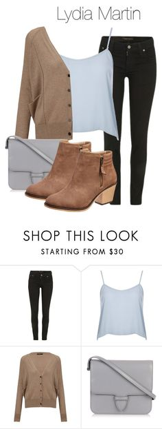 """""""Lydia Martin outfit with jeans - tw / teen wolf"""" by shadyannon ❤ liked on Polyvore featuring Nudie Jeans Co., Topshop, Crea Concept and Alaïa"""