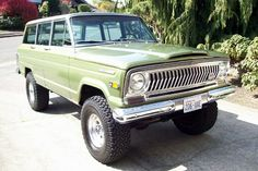 Prestine 1970 Jeep Wagoneer