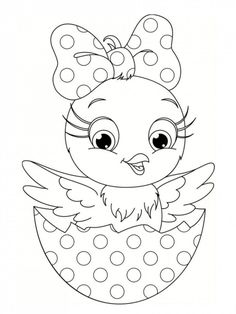 Easter Egg In Basket Coloring Pages - Looking for an Easter egg coloring page? We have collected a lot of nice pictures for you that have to do with the Easter cele. Easter Coloring Pages Printable, Easter Bunny Colouring, Easter Egg Coloring Pages, Coloring Pages For Kids, Coloring Books, Kids Coloring, Easter Art, Easter Crafts, Easter Coloring Pictures