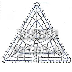 треугольные мотивы крючком схема