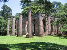 Old Sheldon Church ruins - Beaufort, SC