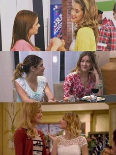 Vilu y Angie Clara Alonso, Disney Channel, Violetta Outfits, Violetta And Leon, Cinema Tv, Hair Sketch, Maria Clara, Best Series, Best Friends Forever