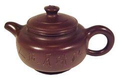 Yixing Teapot Round Sutra 10.1oz