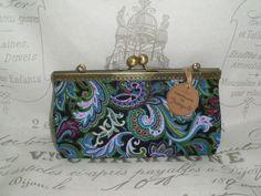 Joisys®  Große Bügeltasche Schminkbox Paisley von Leinen-Traum auf DaWanda.com