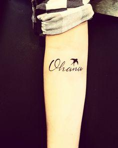 Ohana Tattoo!