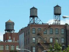 WATER TOWERS. NEW YORK CITY