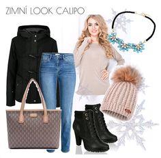 Zimní kolekce - winter outfit wiht necklace by Calipo