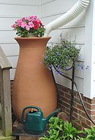 rain barrels for water conservation