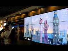 KINECT INTERACTIVE WALL COTTO : SHARE THE WORLD PLEASURE @ BANGKOK INTERNATIONAL AIRPORT DONMUANG - YouTube