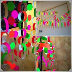 Fluro/Neon  Party Decorations!