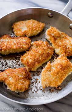 Recipe for Crispy Coconut Chicken with Spicy Honey Orange Sauce for dipping! sallysbakingaddiction.com
