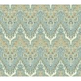 """Found it at Wayfair - Global Chic 27' x 27"""" Palace Abstract Embossed Wallpaper"""