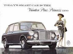 Vanden Plas Princess 1100 (1963). http://brochuremuseum.nl/blfolders/vandenplas/vandenplas1100princess1963en12.html
