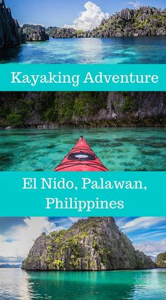 Kayak Tips And Tricks Kayaking Adventure El Nido, Palawan Philippines. Spending the days paddling form one remote island to the next, swimming when we wanted to and camping on remote beaches somewhere in the Philippin Tips and Tricks Vacations To Go, Vacation Trips, Vacation Spots, Travel Photographie, Philippines Travel Guide, Amazing Destinations, Travel Destinations, Kayak Adventures, Palawan
