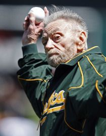 """Oakland Athletics' longtime public address announcer Roy Steele narrates phenomenal """"This is Oakland"""" ode to the Coliseum...and MLB pulled the video offline. But find it on Oakland A's Memes Facebook while you can!"""