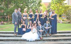 An Art-Inspired Uptown Wedding   Bustld.com
