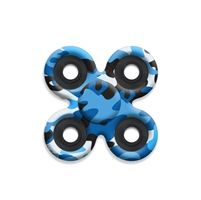 SPINNERS squad fidget toys Blue Camo