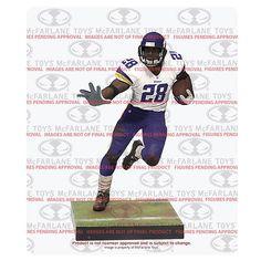NFL Series 34 Adrian Peterson Action Figure - McFarlane Toys