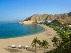 The Shangri-la Barr Al Jissah Resort and Spa in Muscat, Oman ❤ #WorldsBestHotels2014