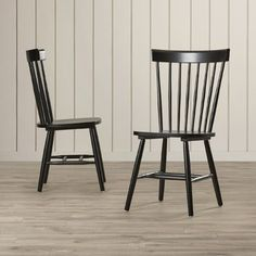 FREE SHIPPING! Shop Joss & Main for your Nicolette Chair. Update your dining space with the charming Benton Chairs. Featuring slender back spindles and tapered front legs which will complement any home's décor.