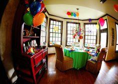Baby Einstein Decoration ideas Baby Einstein Party, Birthday Parties, Birthday Ideas, Baby Kids, Birthdays, Decoration, Bed, Kid Stuff, Party Ideas