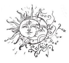 sun and moon kissing - Buscar con Google