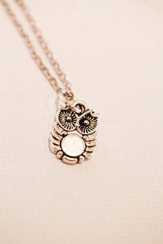 Tiny Owl Pendant