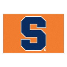 Ncaa Syracuse University Orange 1 ft. 7 in. x 2 ft. 6 in. Accent Rug