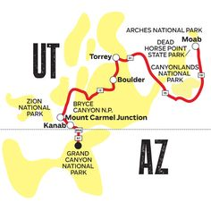 A Classic Road Trip from Utah to Arizona | Road Trips | Route with great Grand Canyon advice! Come back to this for further planning :)