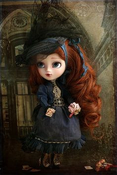 Living the fate  Isadora Otero  Rebeca Cano ~ Cookie dolls  https://www.facebook.com/CookieDolls