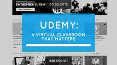 Udemy: A Virtual Classroom that Matters