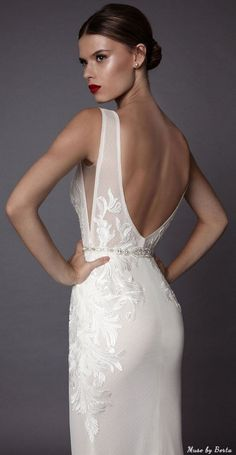 Muse by Berta Wedding Dress AMADIS 1 | Deer Pearl Flowers