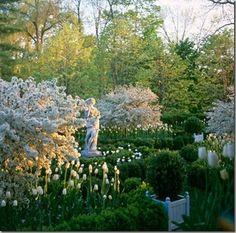 carolyn roehm gardens | Carolyn Roehm's spring garden