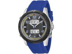 87e7067b28d Relógio Masculino Seculus 23446GPSVCU2 Anadigi - Resistente à Água com as  melhores condições você encontra no Magazine 233435antonio. Confira!