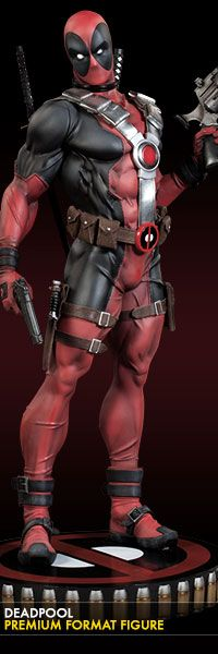 Deadpool / Premium Format Figure / Exclusive Edition / Sideshow Collectibles / Edition size: 1250 / JCG