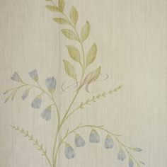 Nina Campbell Woodsford Wallpapers Aubourn NCW4105-01 White Blue