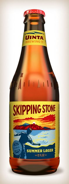 Uinta Brewing Co.: Skipping Stone
