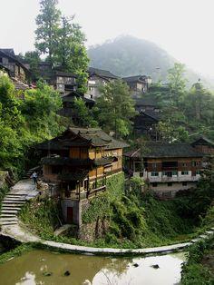 Nanhua Miao Village, China