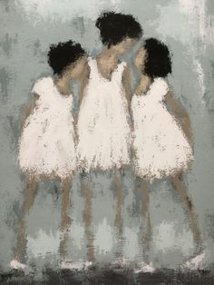3 kids in het wit Painting People, Figure Painting, Painting & Drawing, Paintings I Love, Art Paintings, Figurative Kunst, Pastel Art, People Art, Portrait Art