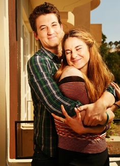 Shailene and Miles for The Spectacular Now