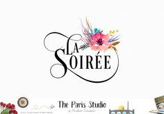 Premade Logo Design by The Paris Studio, Madame Levasseur