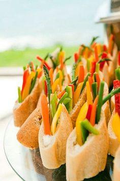 55 Savory Fall Wedding Appetizers | HappyWedd.com