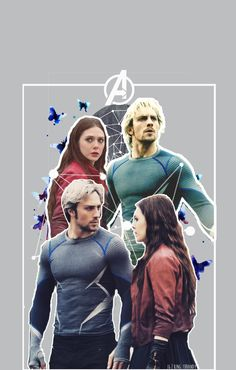 Fave twins in the world tbh: Scarlet witch and Quicksilver