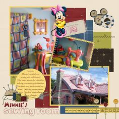 Minnie's House - Page 4 - MouseScrappers.com