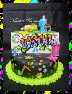 Graffiti cake, torta