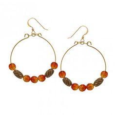 Tangering Watercolor Earrings