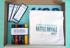 DIY Family Game Night Challenger Kit - Free Printable and Fun Ideas