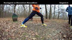 Rozciąganie mięśni łydki