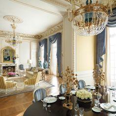 Shangri-La Hotel, Paris / Hotels / Home Shangri La Paris, Shangri La Hotel, Luxury Furniture, Home Furniture, Furniture Design, Paris Apartments, Paris Rooms, Paris Hotels, Hotels And Resorts